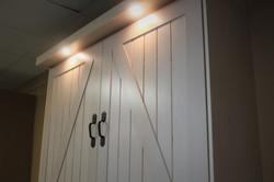 Barn Door #1219-0420 Outset Lights