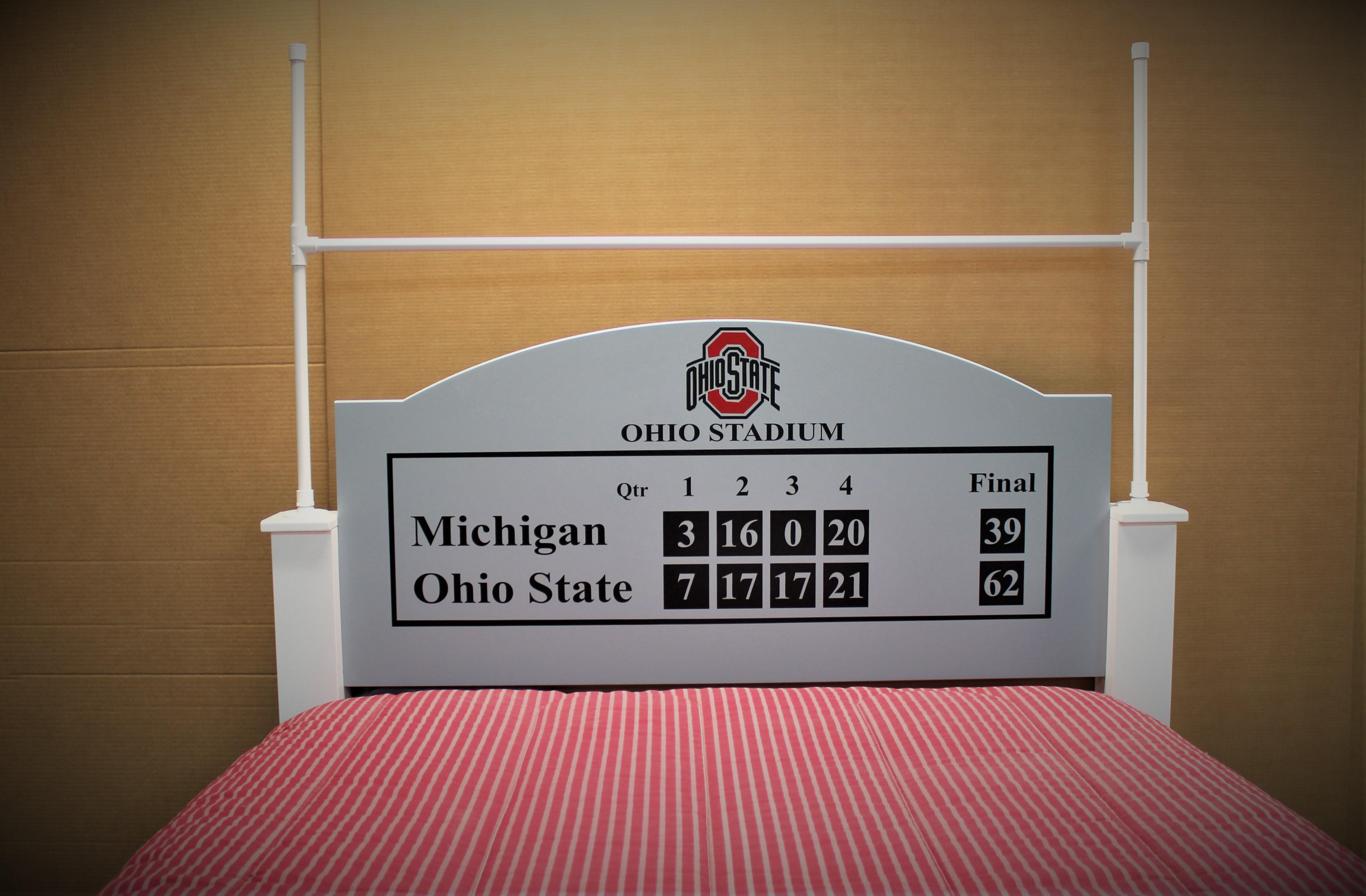 Full size Football Bed Headboard