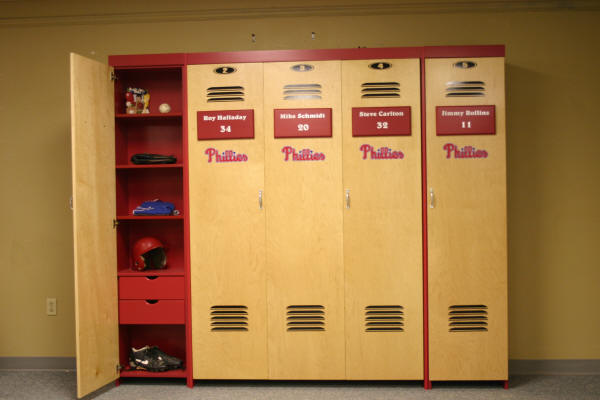 Phillies Open Bookcase