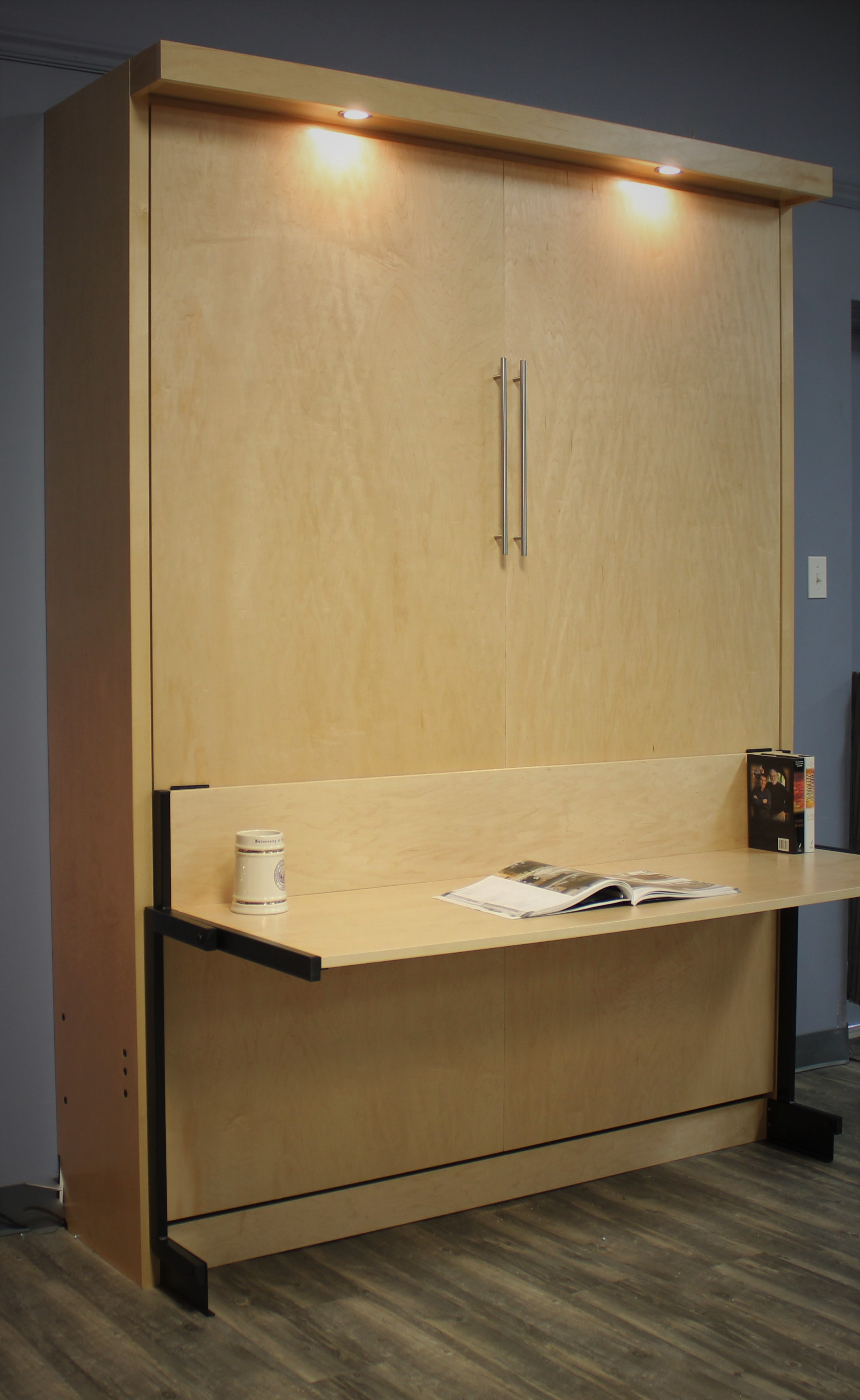 Manhattan Murphy Bed Desk #122-1219