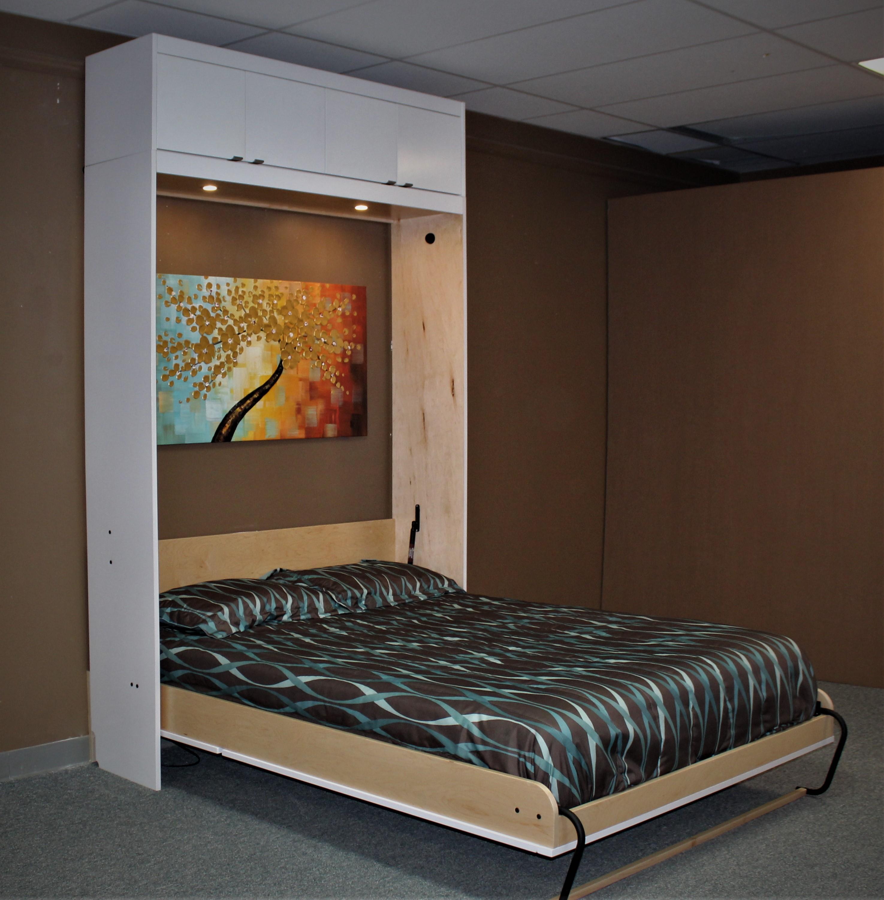 Murphy bed #131-0818 Bed Open