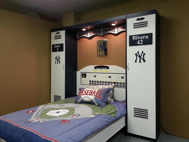 Yankee bed shown open