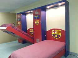Soccer Murphy wall bed