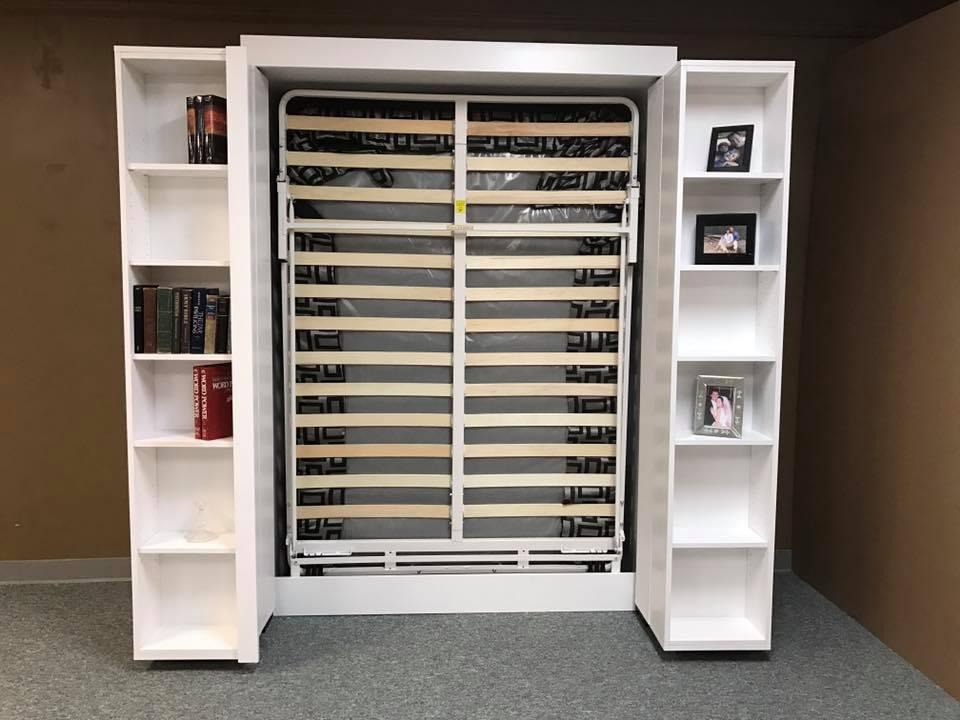Pivot Murphy Bookcase All Open