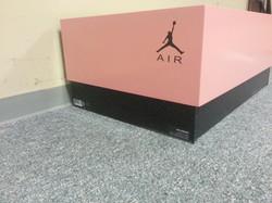 Pink Jordan Box Side