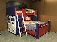 Cubs Bunk bed with bats