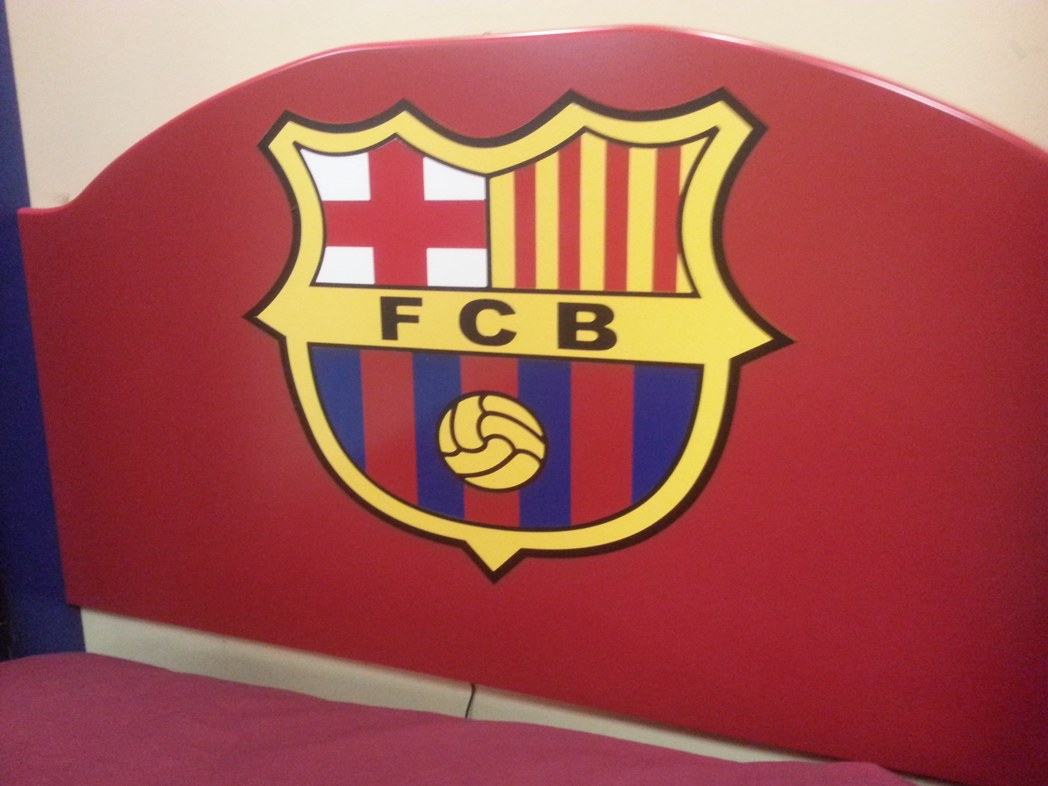 Soccer Headboard
