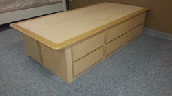 6 drawer twin | Drawer one side