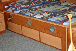 Show with drawers.