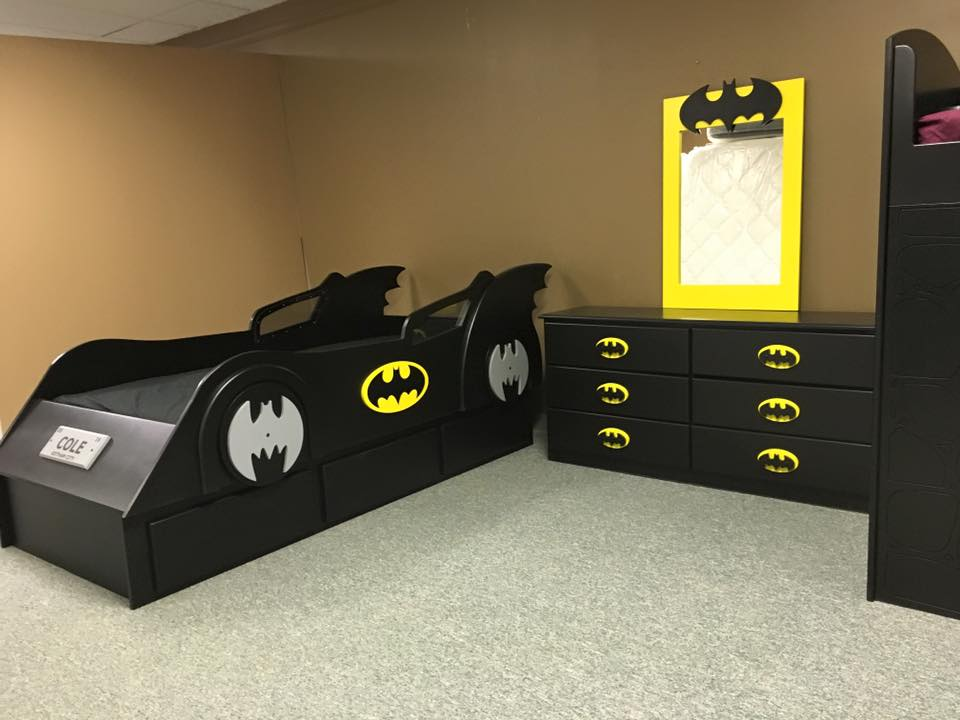 Bat Car and Dresser