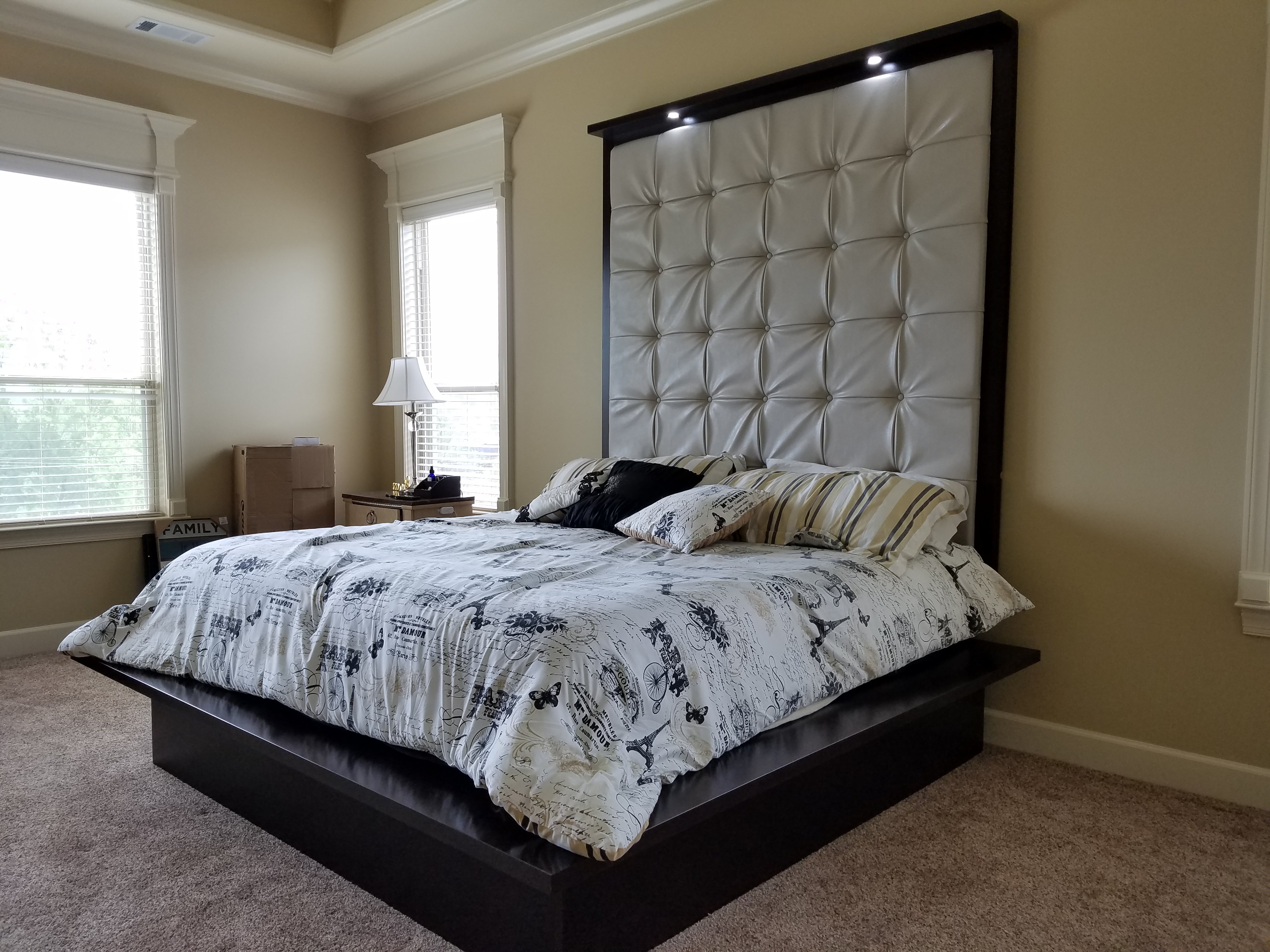 Large Upholstered Headboard