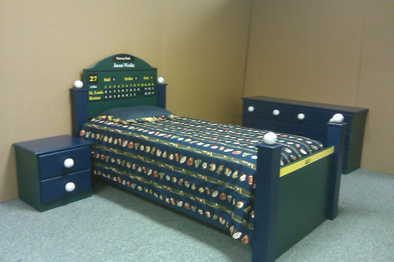 Baseball bed (No Bat Version)