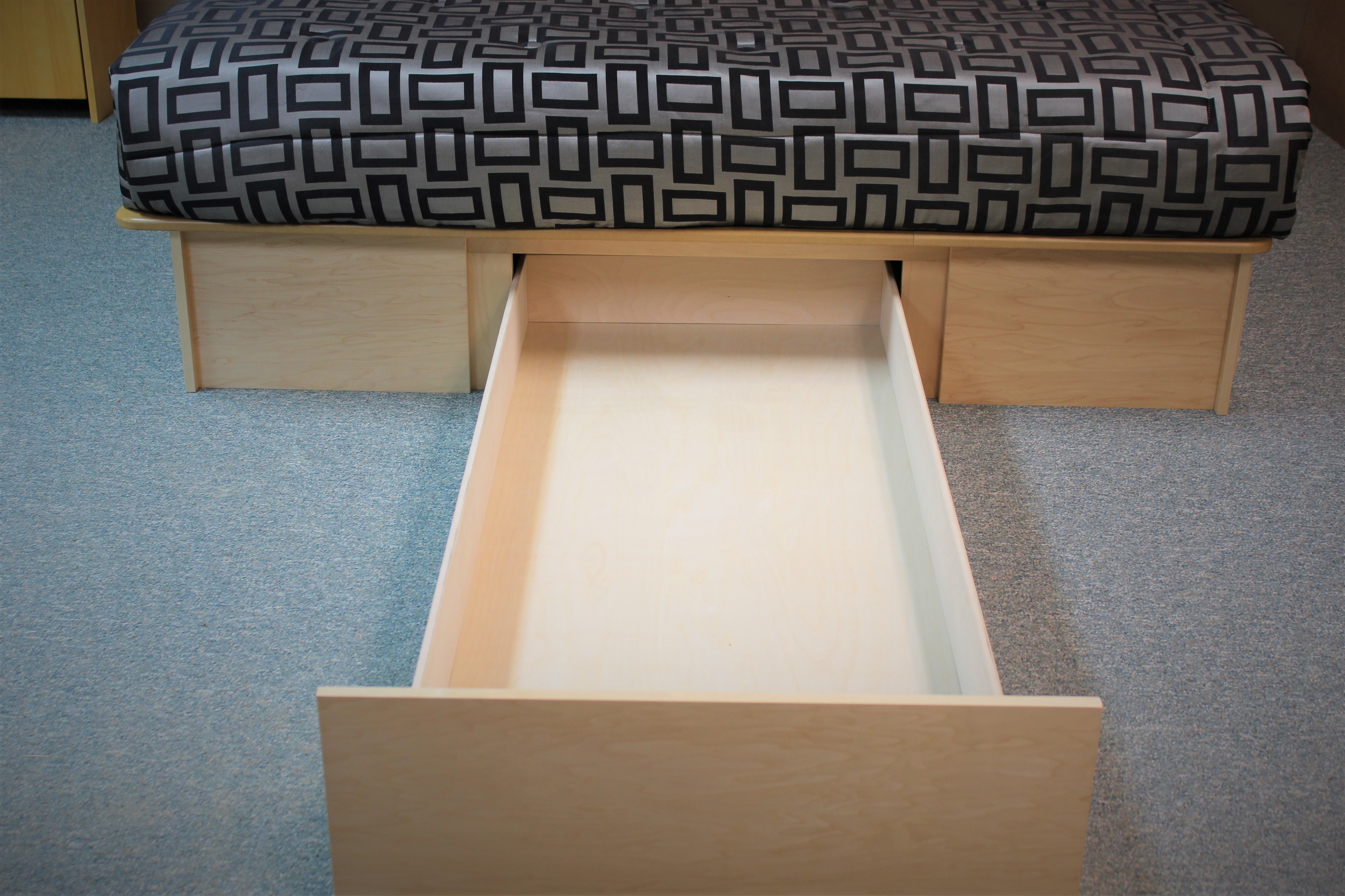 Maple Bed Long Drawer
