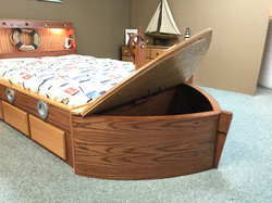 Oak Boat Bow
