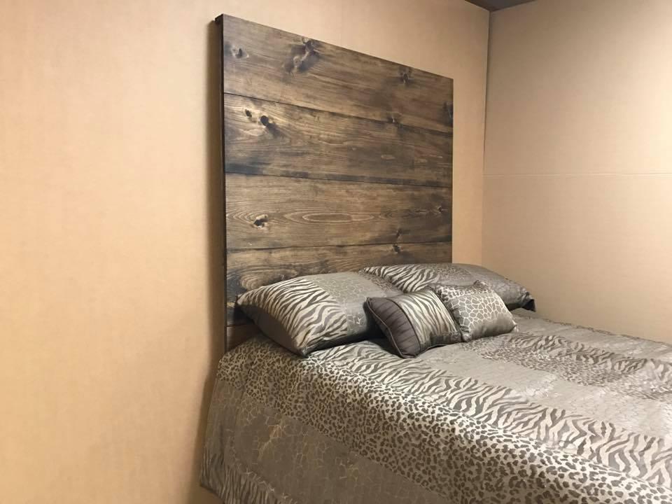 Rustic Panel Headboad