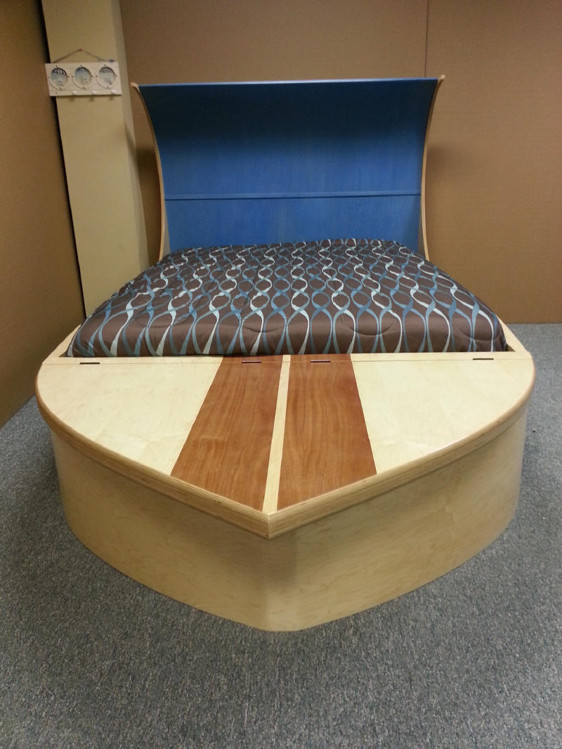 Surfboard Bed Front