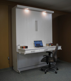 Alpine Desk Drawers Bed Closed