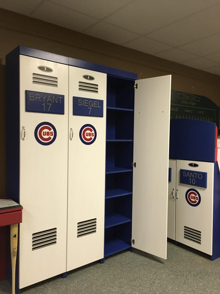Chicago Cubs Lockers