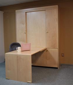 Murphy bed #131-0819 Desk Open