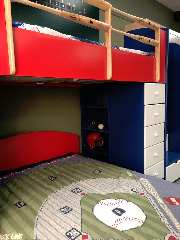 Baseball Loft Style 2 Bookcase 2