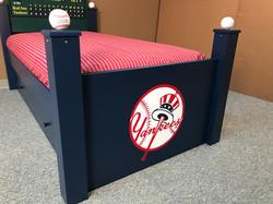 Baseball Trundle Bed Footboard