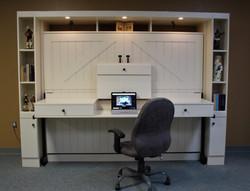 Horizontal Barn Desk Open