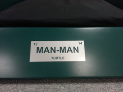 TMNT Bed Front plate