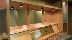 Wall unit mirrors