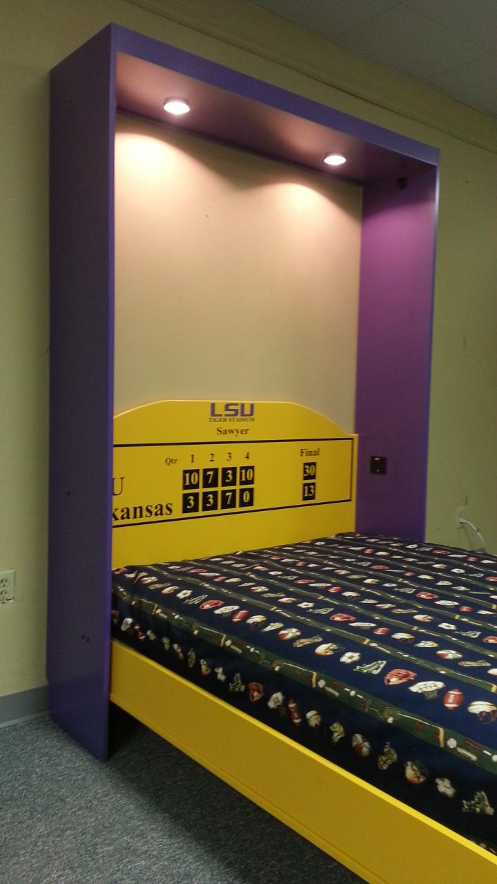 LSU Murphy bed