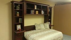 Sideways murphy bed open
