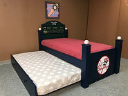 baseball bed with bats
