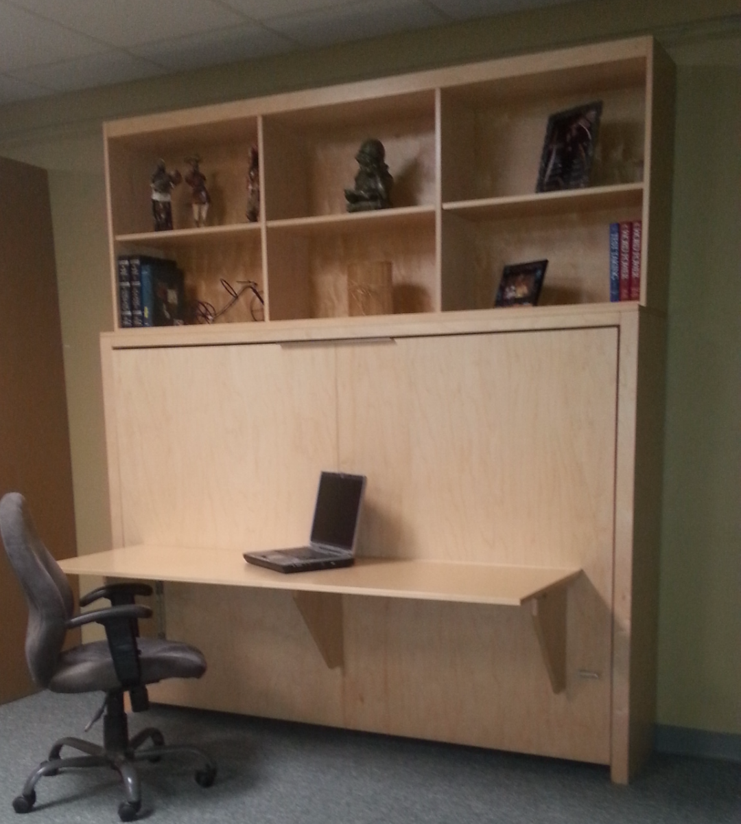 Horizontal Manhattan Desk Bookcase
