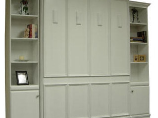 Murphy Bed Bookcases | Height and Depth