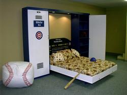 Cub locker bed open
