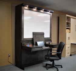 Dry Erase Style 2 Desk Open Side