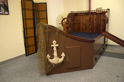 Boat bed Style 2 Decorated