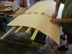 Surfboard headboard Build