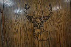Murphy #1223-0120 Deer Carving