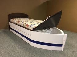 Boat Flat Headbobard Toy Box