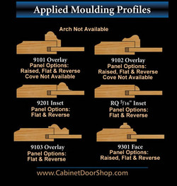 Some molding options.