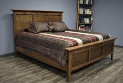 Custom King Bed Side