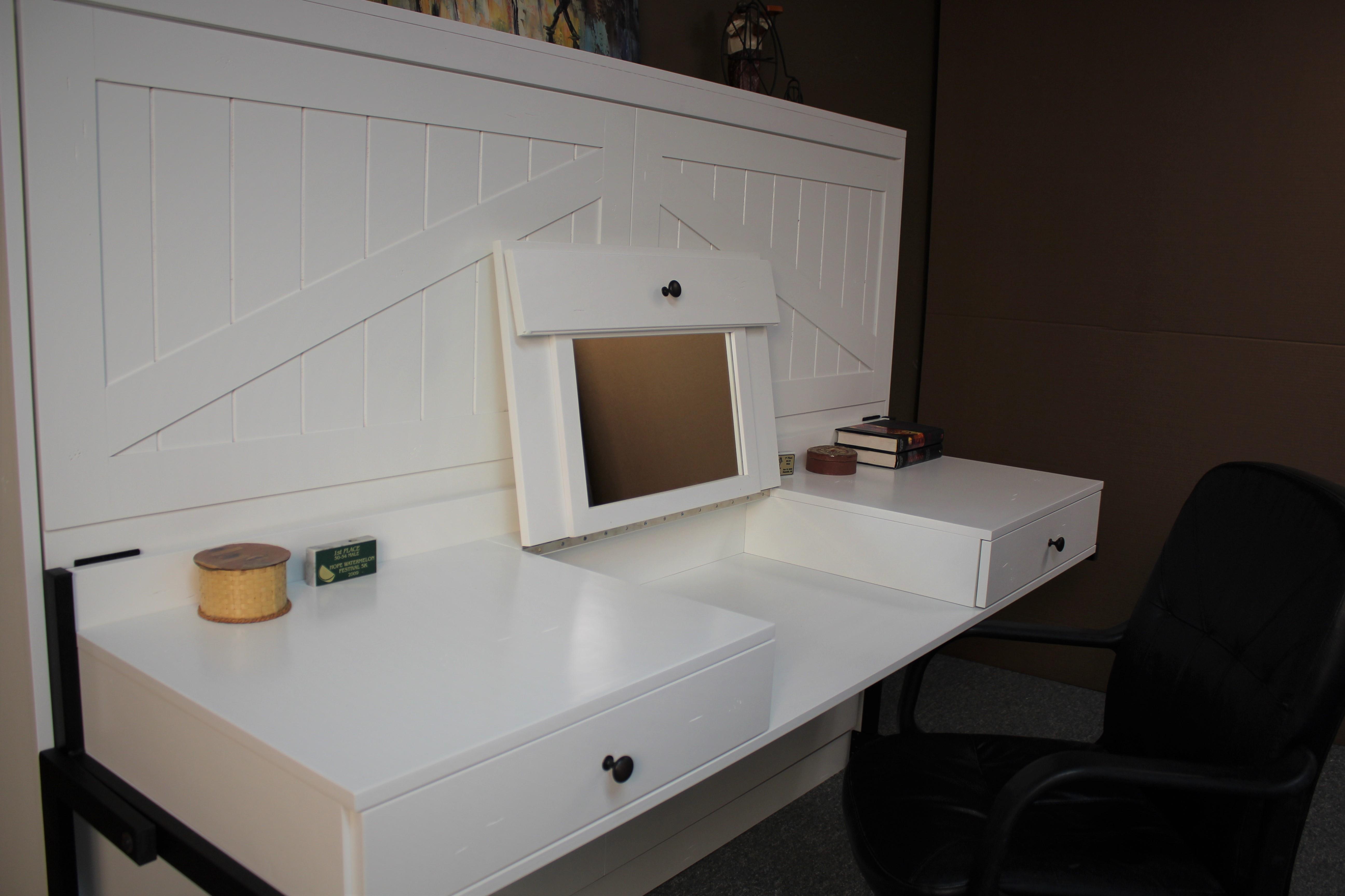 Vanity Murphy Desk Open