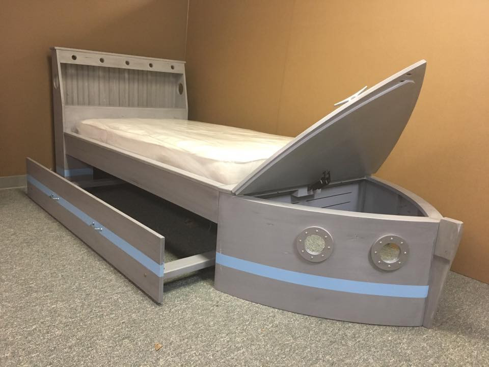 Boat bed trundle