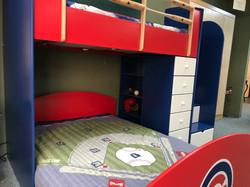 Baseball Loft Style 2 bookcase