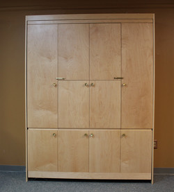 Murphy bed #131-0819 Closed