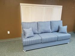 Franklin Armless Sofa Closed