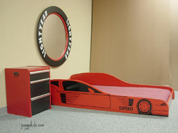 Race Car Red and Toolbox