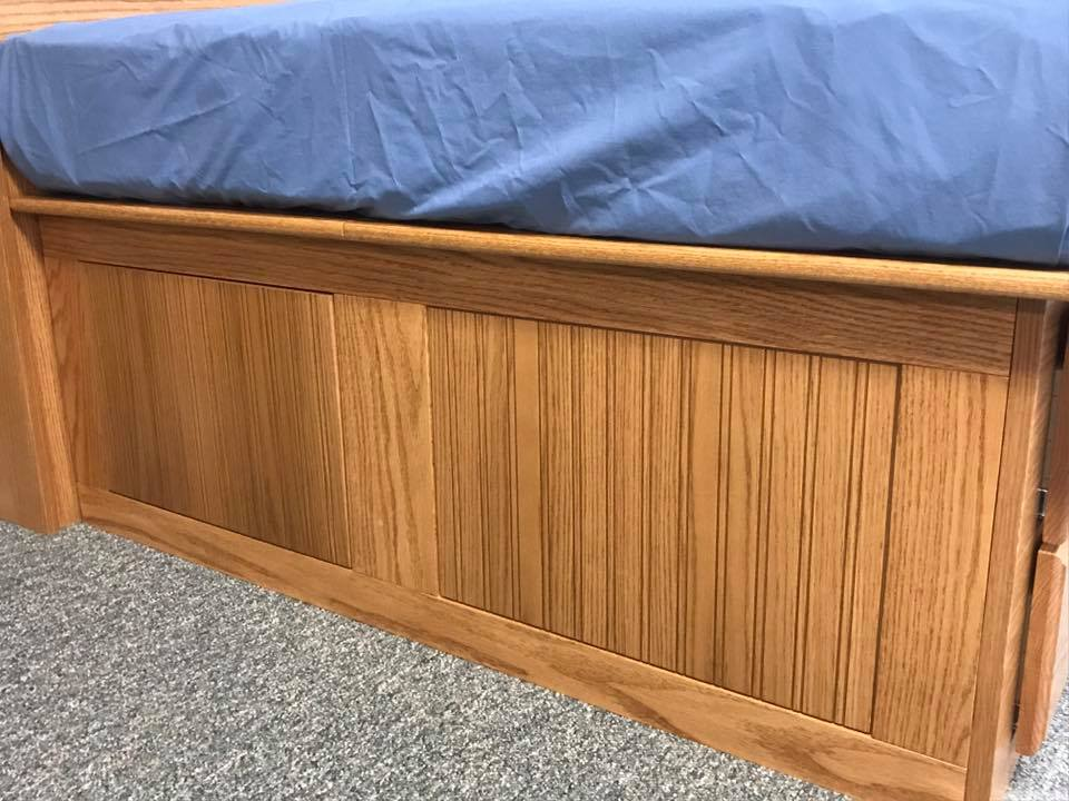 Oak Daybed Side Panel