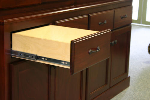 Federal China Cabinet Drawer