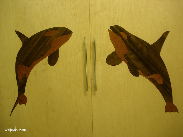 Whale Marquetry